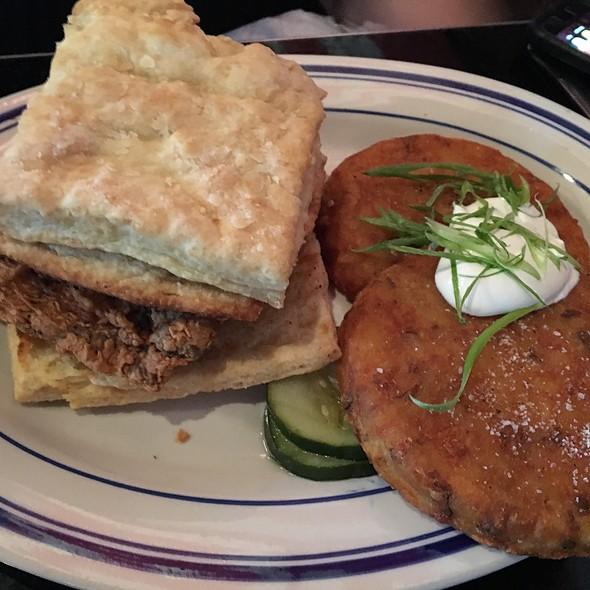 Chicken Biscuit Sandwich @ Palomino