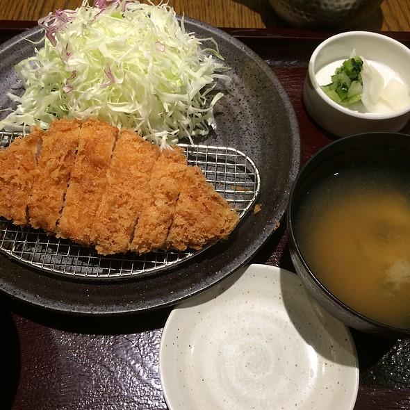Pork Fillet Tonkatsu @ 和幸 渋谷メトロプラザ