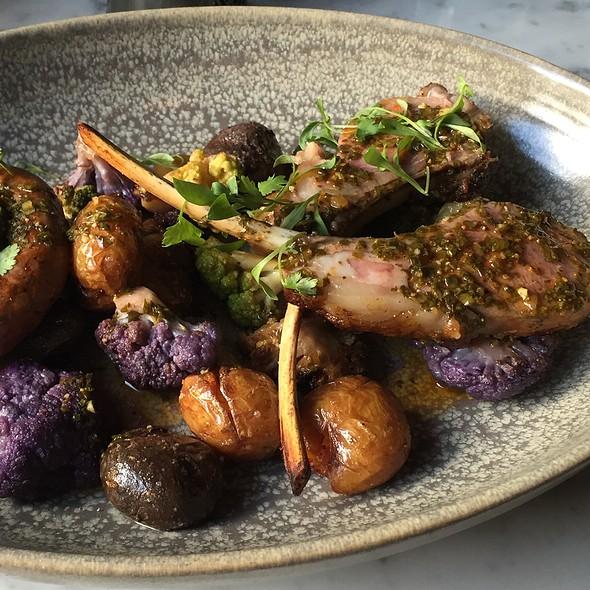 Roasted Lamb Chops @ Park Tavern