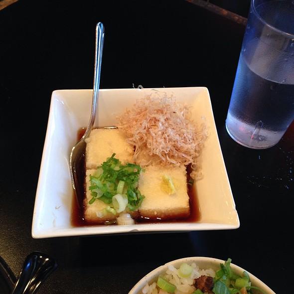 Deep fried tofu @ Ajisen Ramen