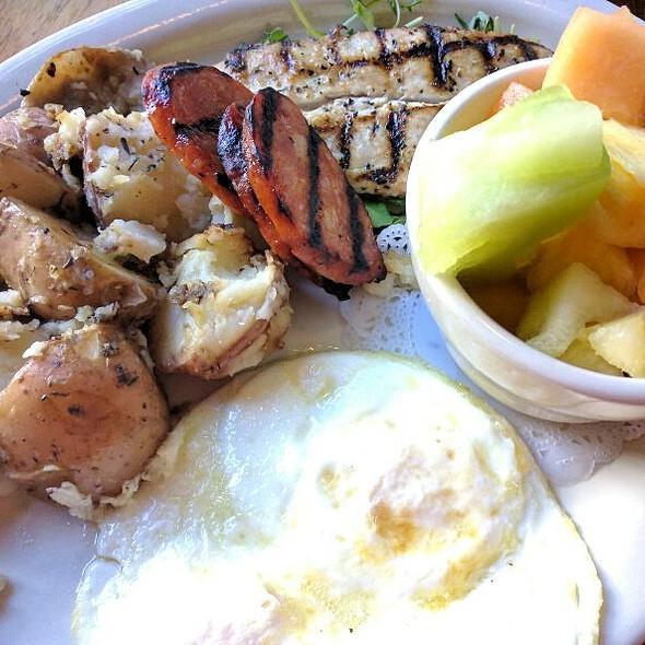 Big Kahuna Fish Breakfast @ Island Lava Java Bistro & Grill