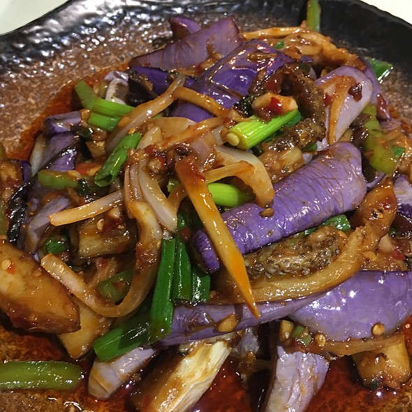 Spicy Minced Pork with Eggplant