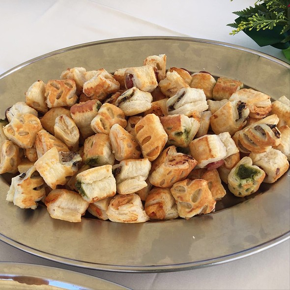 Puff Pastry Appetizers @ Hotel Valeria Del Mar