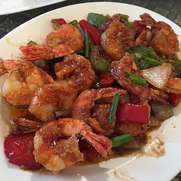 Tamarind Shrimp @ Thailand Cafe