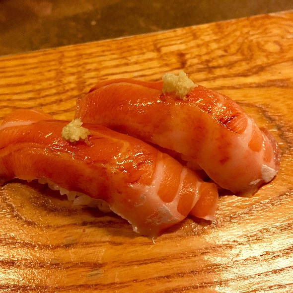 Salmon Belly @ Uchi Dallas