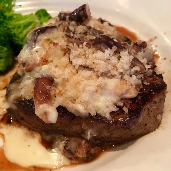 Shiitake Mushroom-Crusted Filet