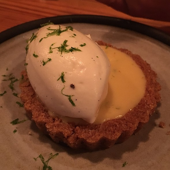 Key Lime Tart @ Central Provisions