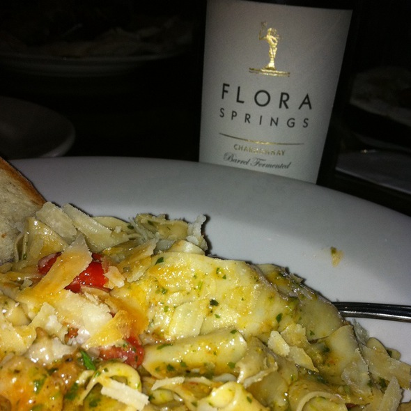 #Bfchard And Pasta @ Tra Vigne