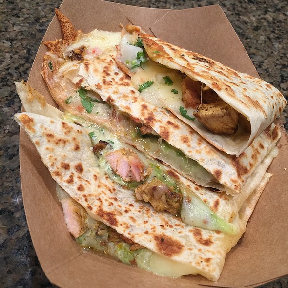 Chicken Quesadilla @ Chandos Tacos