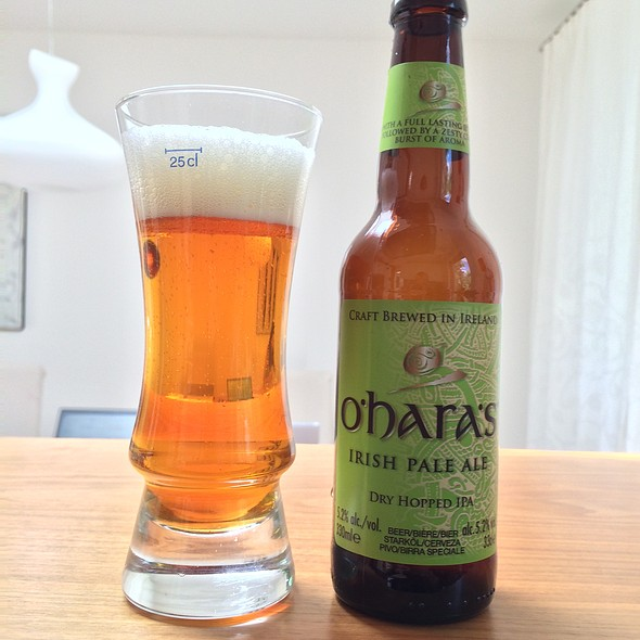 O'Hara's Irish Pale Ale @ My Best Home Cooking