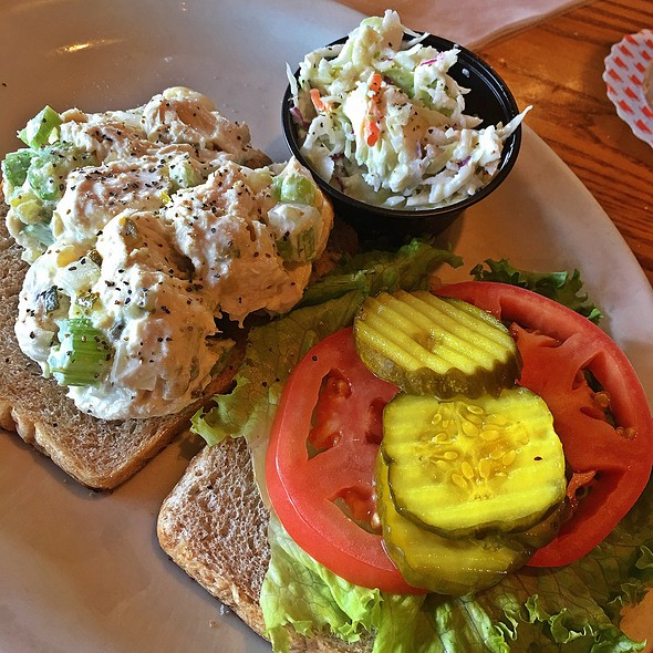 Chicken Salad Sandwich @ Cracker Barrel