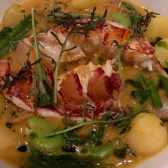 Cider Poached Maine Lobster