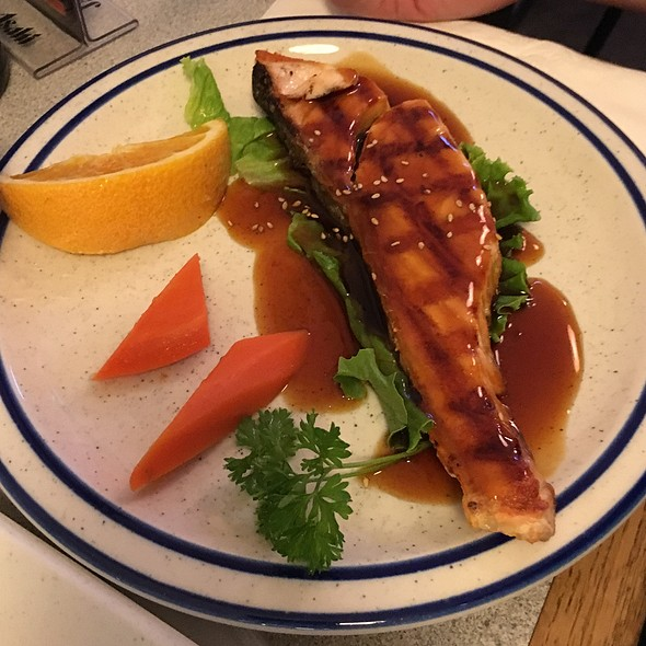 Salmon Teriyaki @ tsugaru restaurant