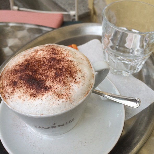 Cappuccino @ Cafe GRANDE