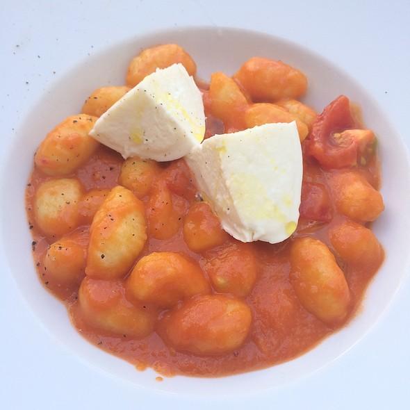 Gnocchi with tomato sauce and mozzarella @ Da Zanini