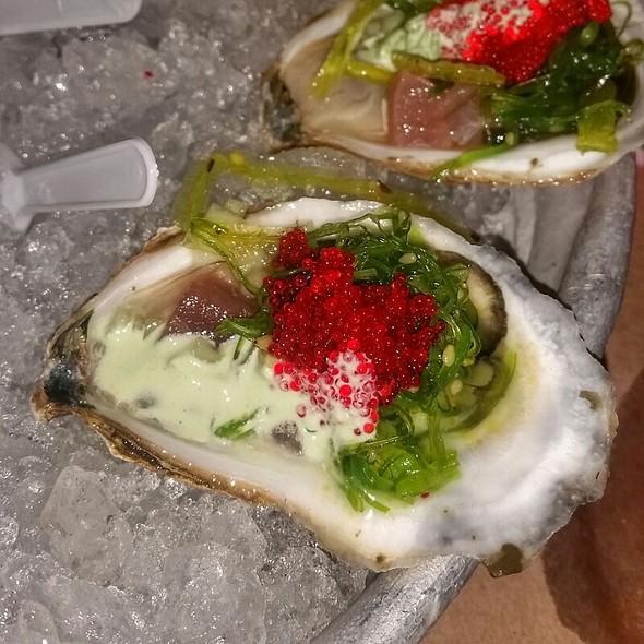 South Bay Blonde Oyster And Tuna Sashimi - Summer Shack, Boston, MA