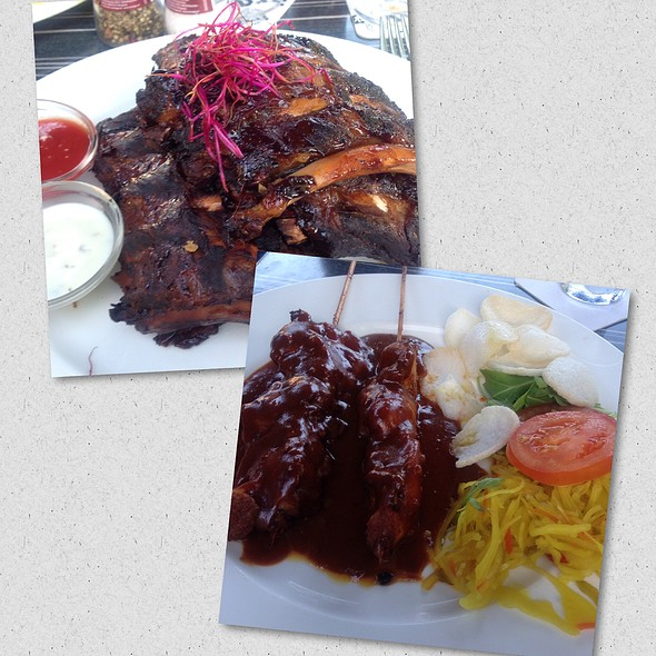 Spareribs Chicken Satay @ De Watersport