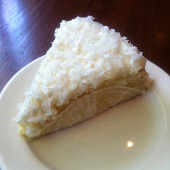 Coconut Cream Cake @ La Madeleine