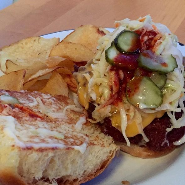 Fried Chicken Sandwich @ Parson's Chicken & Fish
