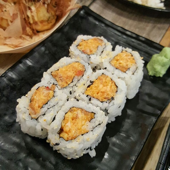 Spicy Salmon Sushi @ Ichiba Japanese Market