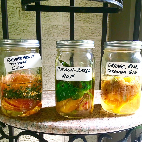 Booze Infusions!
