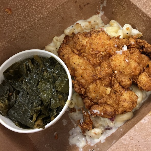Springer Mountain Fried Chicken @ Poogan's Smokehouse