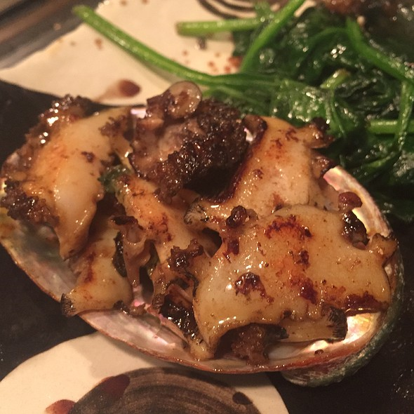 Abalone Teppanyaki @ Restaurant Suntory