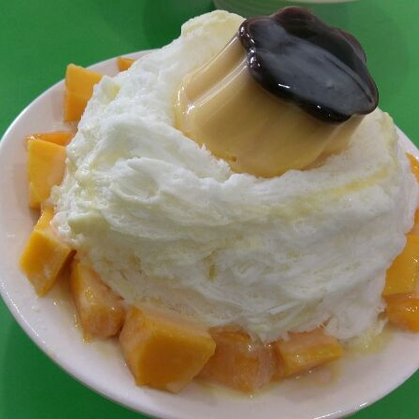 Shaved Ice with Mango @ 奇淋冰品