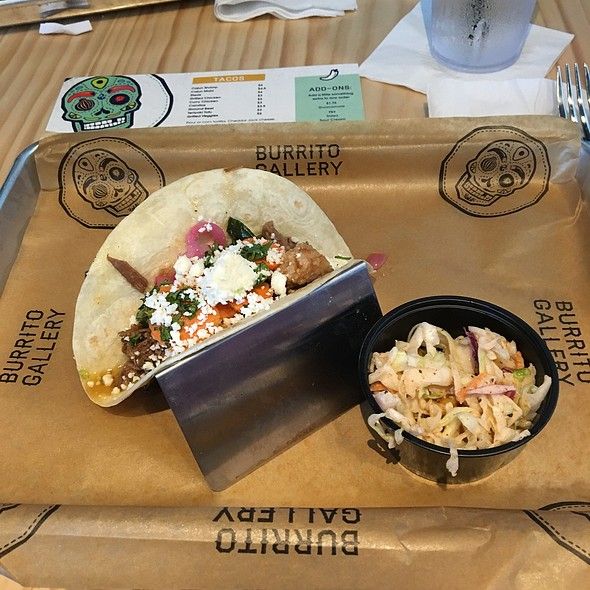 Tacos @ Burrito Gallery