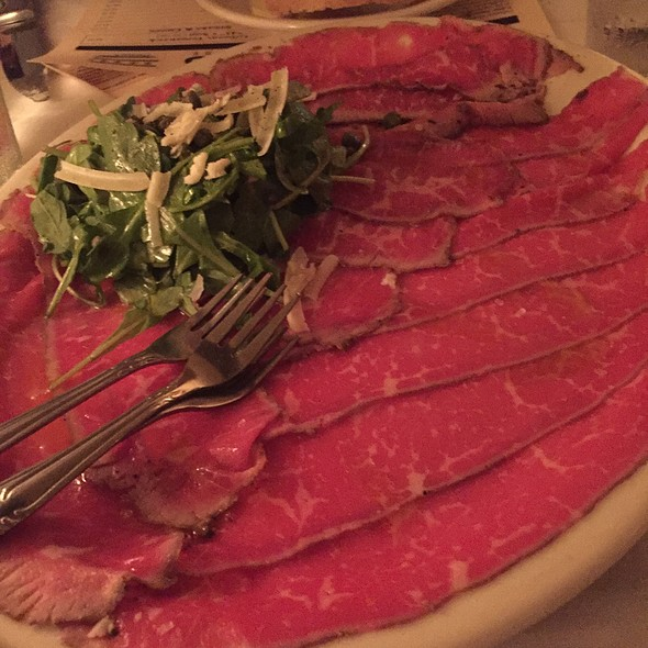 Beef Carpaccio - Gibsons Bar & Steakhouse - Chicago, Chicago, IL