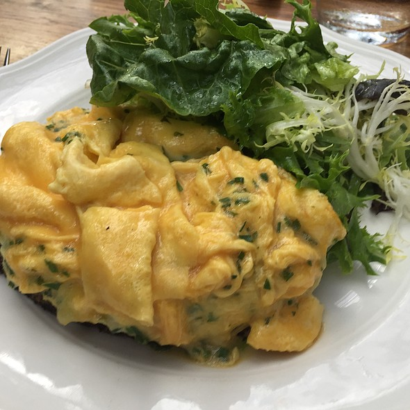 Soft Scrambled Eggs, Gruyere - The Standard Grill, New York, NY