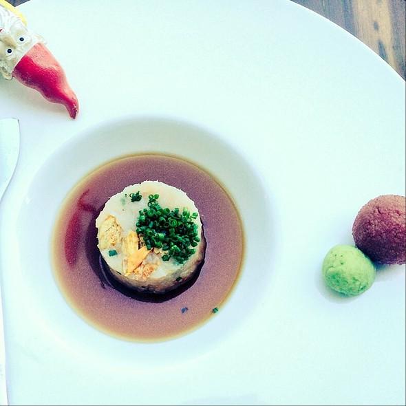 Yellowtail Belly Appetizer @ Morimoto Napa