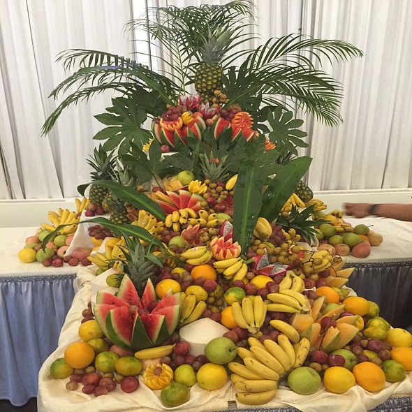 Fruit Display @ Woodside Restaurant @ Parkyard Hotel Shanghai