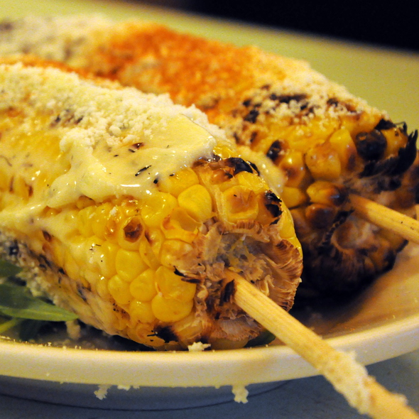 Grilled Corn Mexican Style