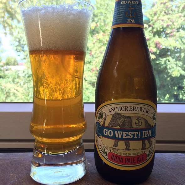 Anchor Brewing Go West Ipa @ My Best Home Cooking