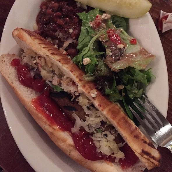 Vegan Sausage @ Rosamunde Sausage Grill