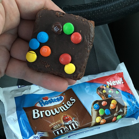 Hostess Brownies With Milk Chocolate M & Ms @ Dollar General