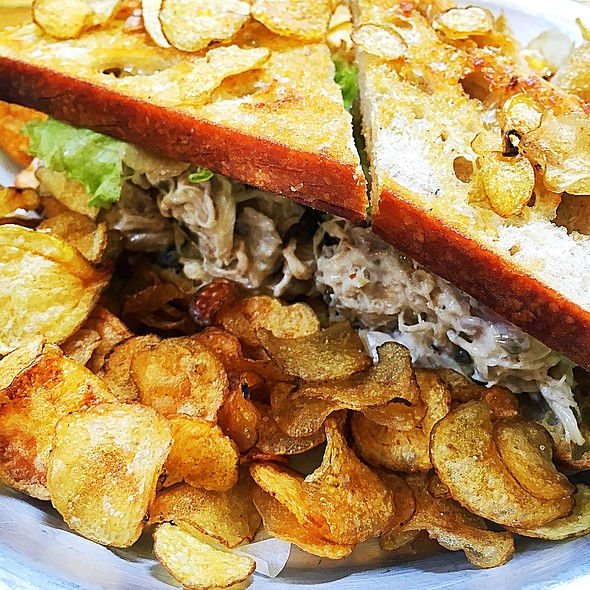 Chicken Salad Sandwich @ Toby's Estate Coffee