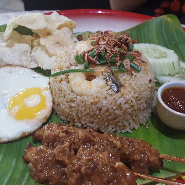 Nasi Goreng @ The Mews Restaurant & Cafe