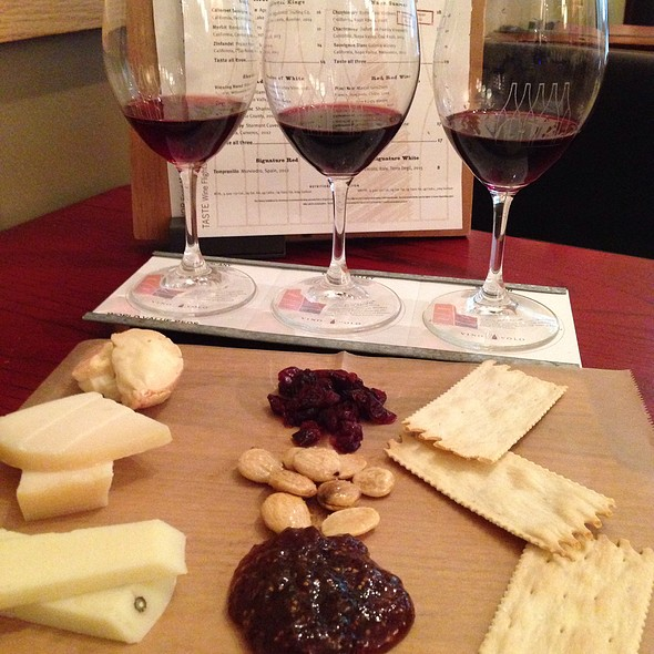 Wine Flights And Cheese Plate  @ Vino Volo- Phl