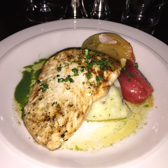 Wood-Grilled Swordfish @ State Road Restaurant