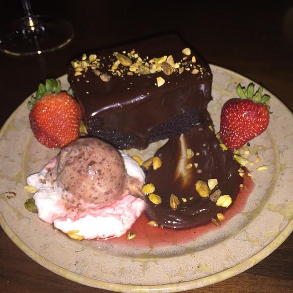 Chocolate Fudge Cake @ State Road Restaurant