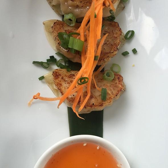 Chicken Gyoza @ E+O Kitchen
