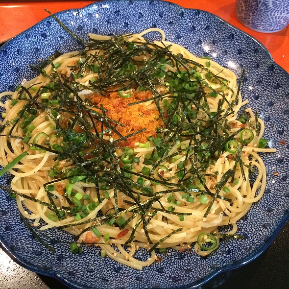 Cod Roe Pepperoncino @ 洋麺屋五右衛門 渋谷本店