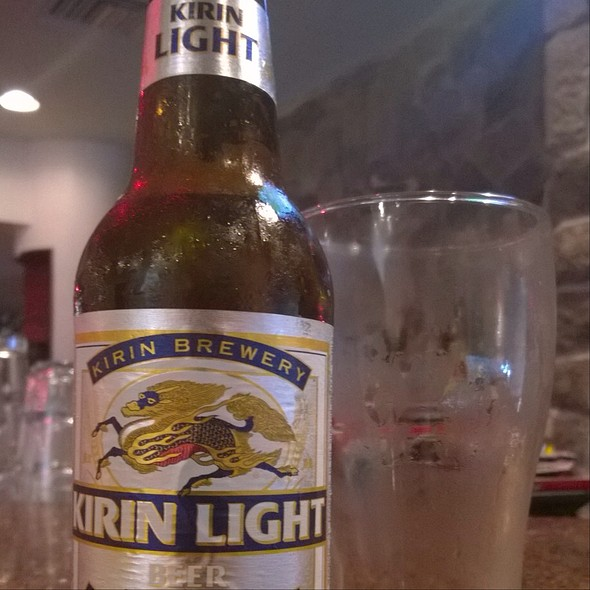 Kirin Light @ Benihana Japanese Steakhouse