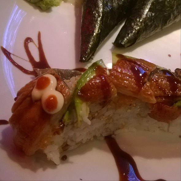 Dragon Roll @ Benihana Japanese Steakhouse