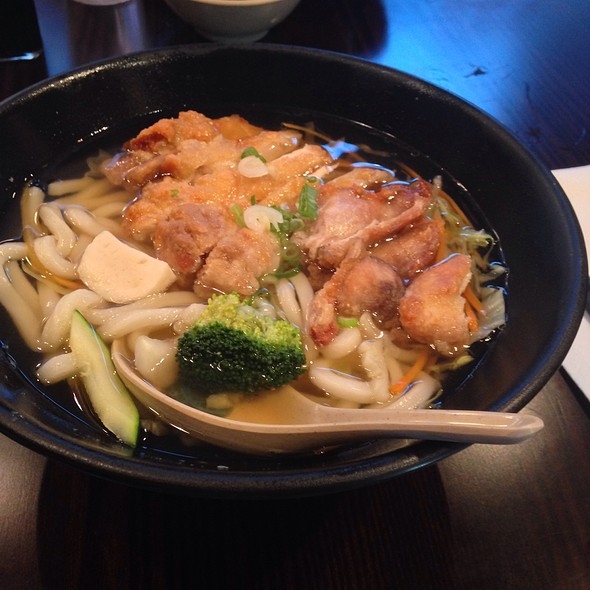 Chicken Udon Noodles