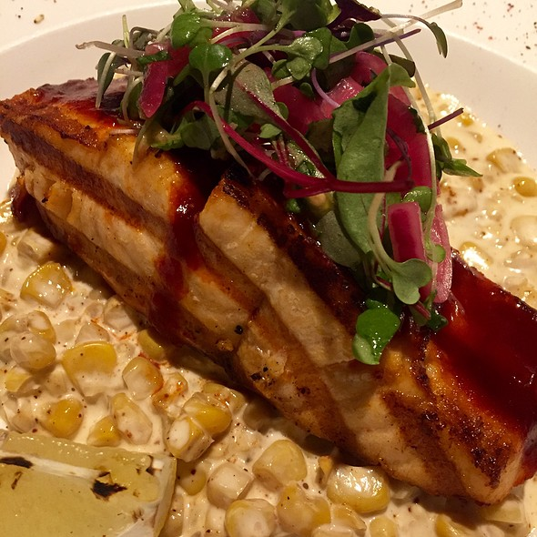 Adobo Salmon, Creamed Corn - Maya - New York, New York, NY