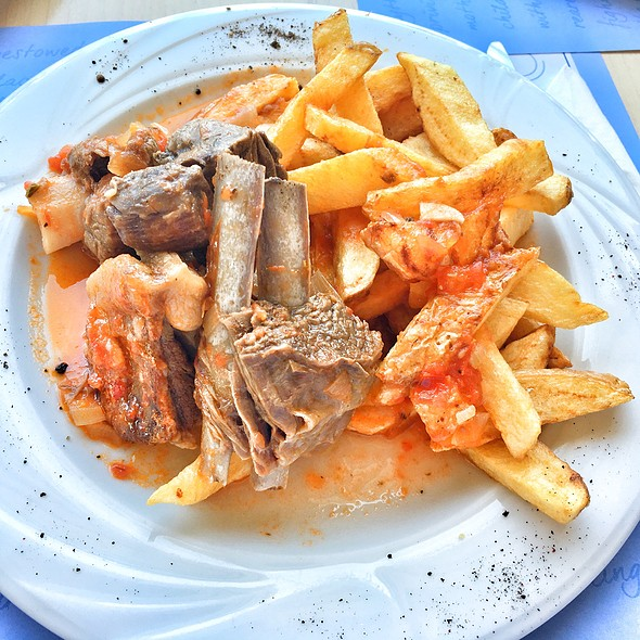 Goat Stew With Fries @ Piato