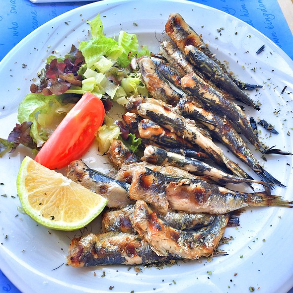 Grilled Sardines @ Piato